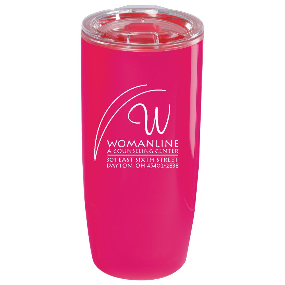 Pink Sierra Insulated Acrylic Tumbler 19-oz. - Personalization Available