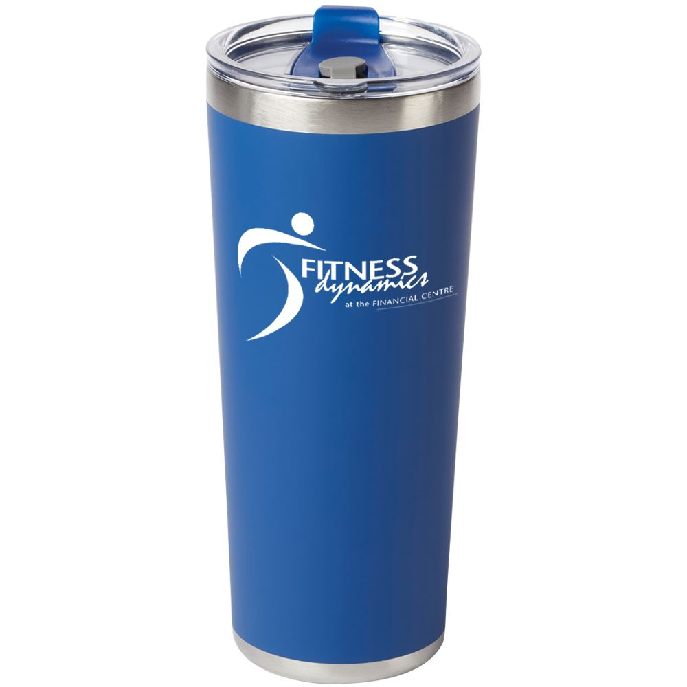 Blue Stockton Stainless Steel Vacuum Tumbler 20-Oz. - Personalization Available