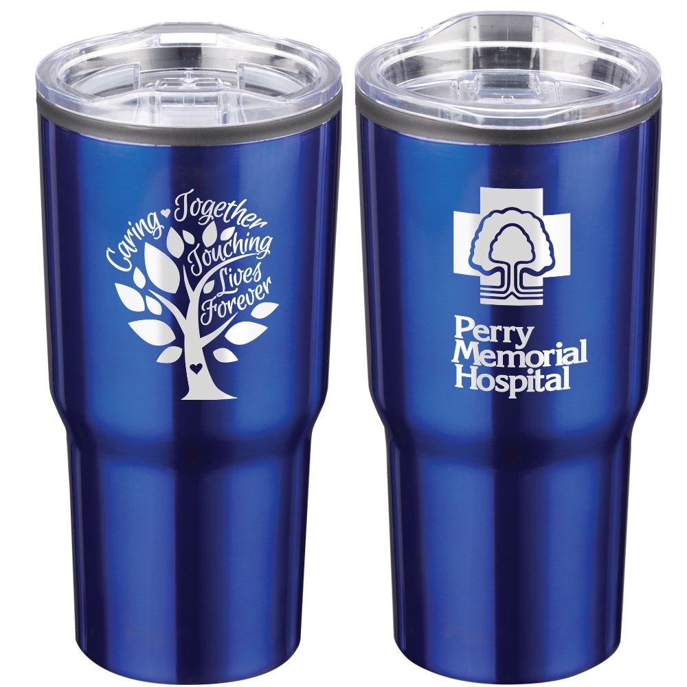 Caring Together Touching Lives Forever Timber Insulated Stainless Steel Travel Tumbler 20-Oz. - Personalization Available