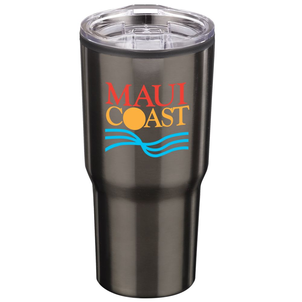 Titanium Timber Insulated Stainless Steel Travel Tumbler 20-Oz. - Full Color Personalization Available