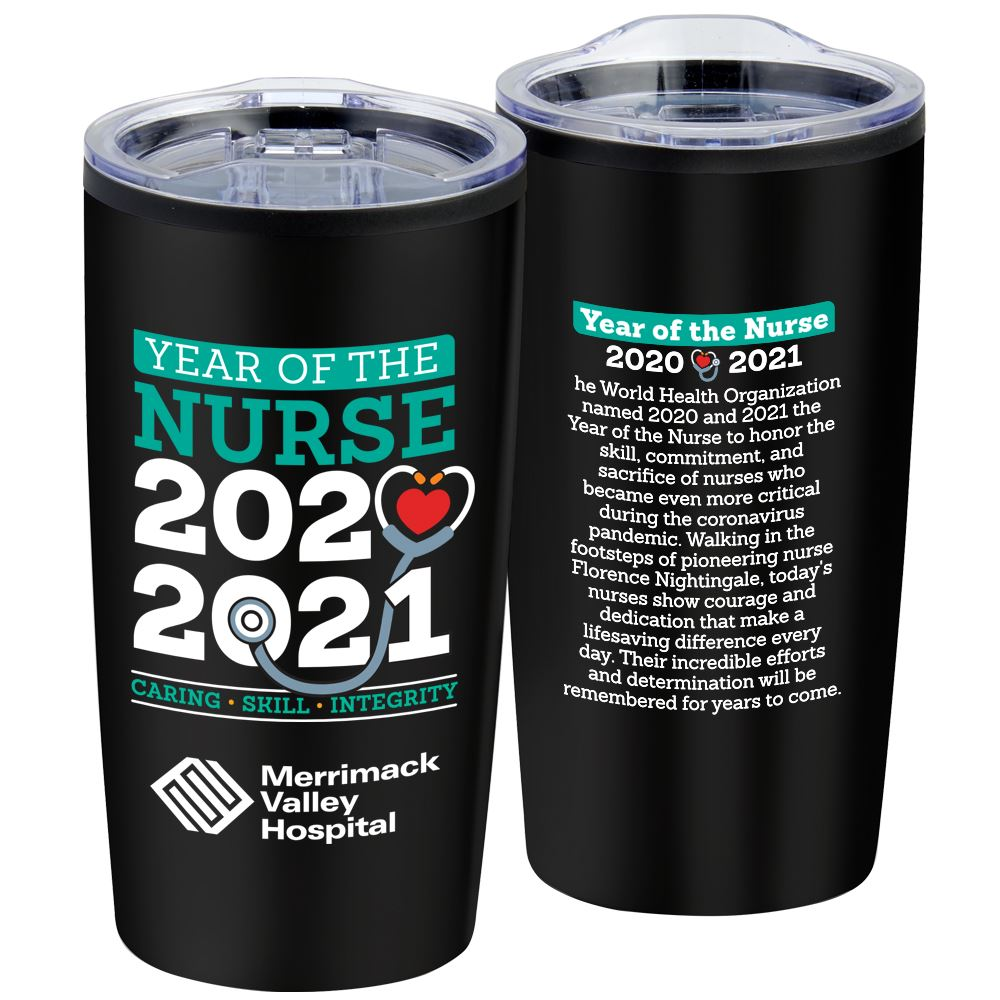 Year of The Nurse Teton Stainless Steel Tumbler 20-Oz. - Personalization Available