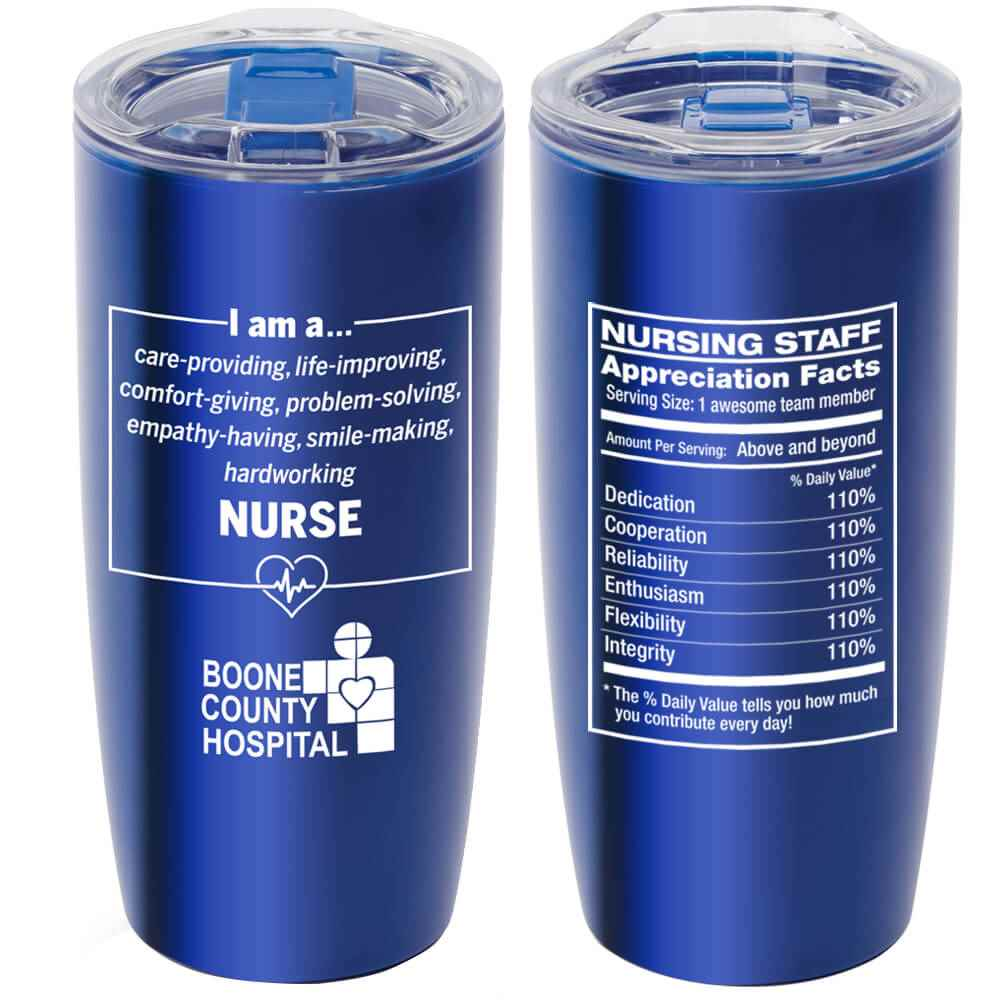 I Am A... Nurse Sierra Insulated Acrylic Tumbler 19-Oz. With Personalization