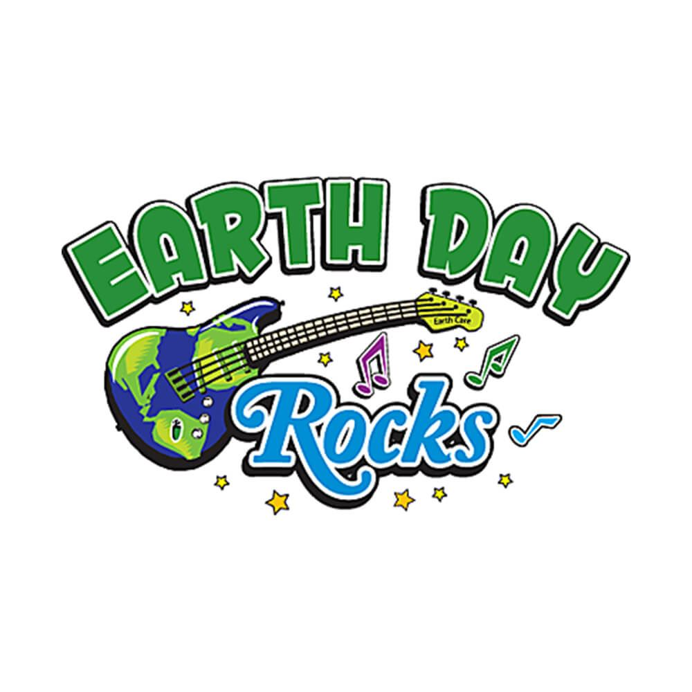 Earth Day Rocks Temporary Tattoos - Pack of 100