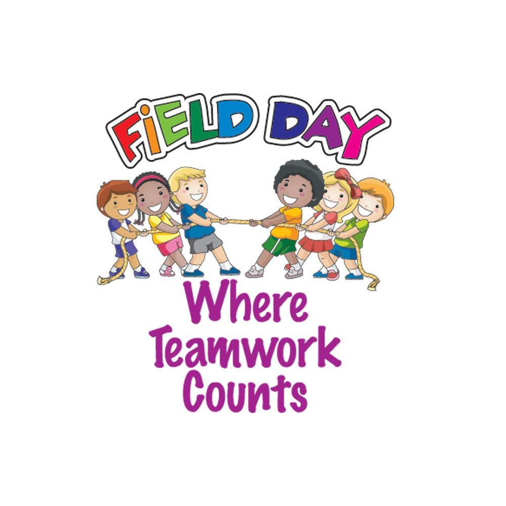 Field Day Where Teamwork Counts Temporary Tattoos