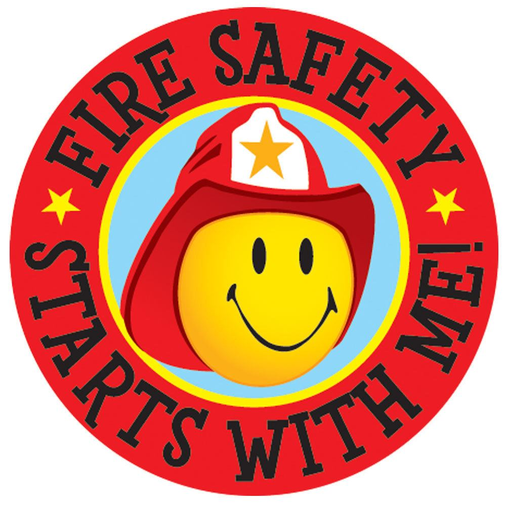 Fire Safety Starts With Me! Temporary Tattoos - 100 per pack