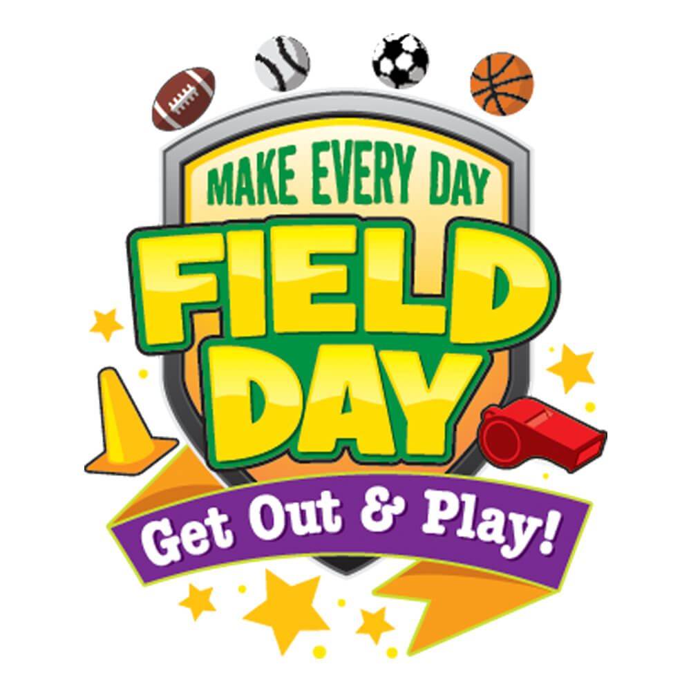 Make Every Day Field Day: Get Out & Play! Temporary Tattoos
