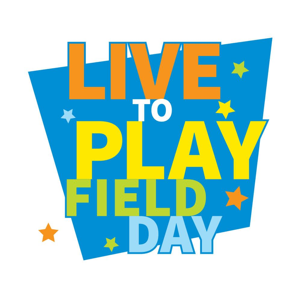 Live To Play Field Day Temporary Tattoos - Pack of 100
