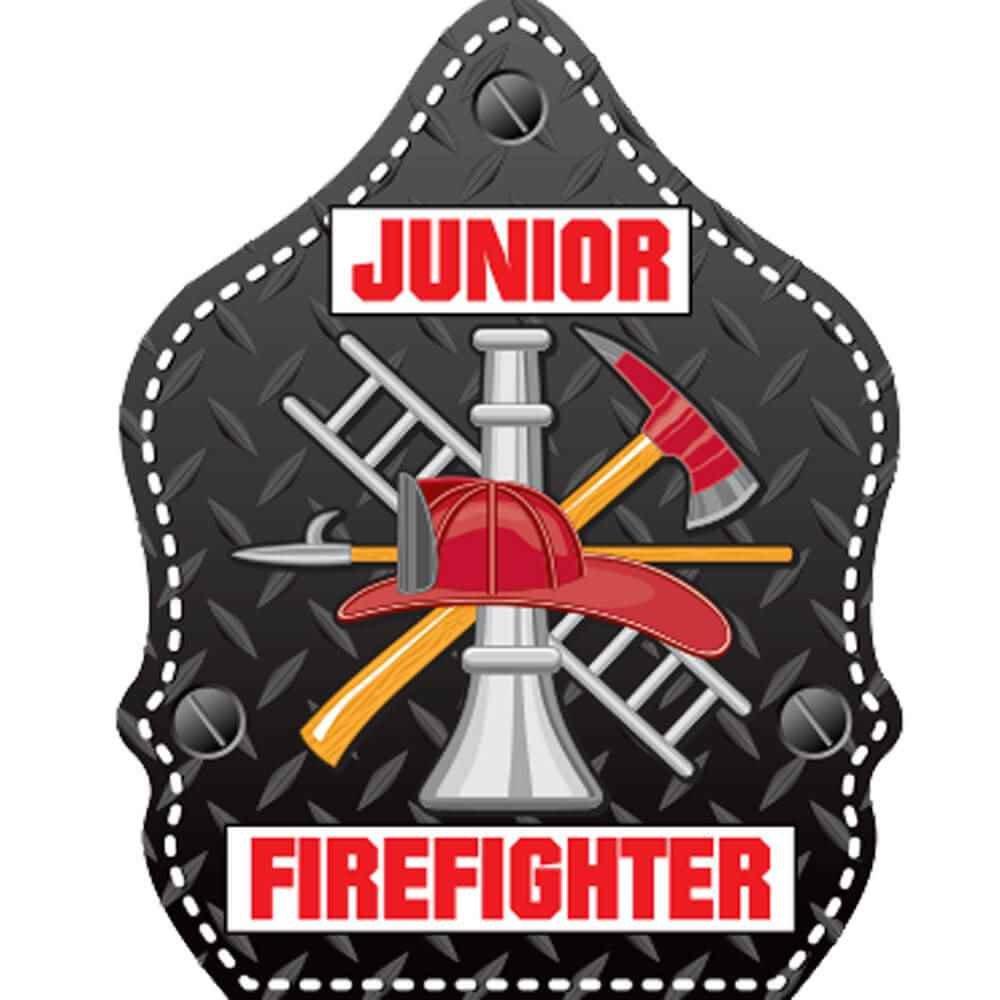 Junior Firefighter Temporary Tattoos