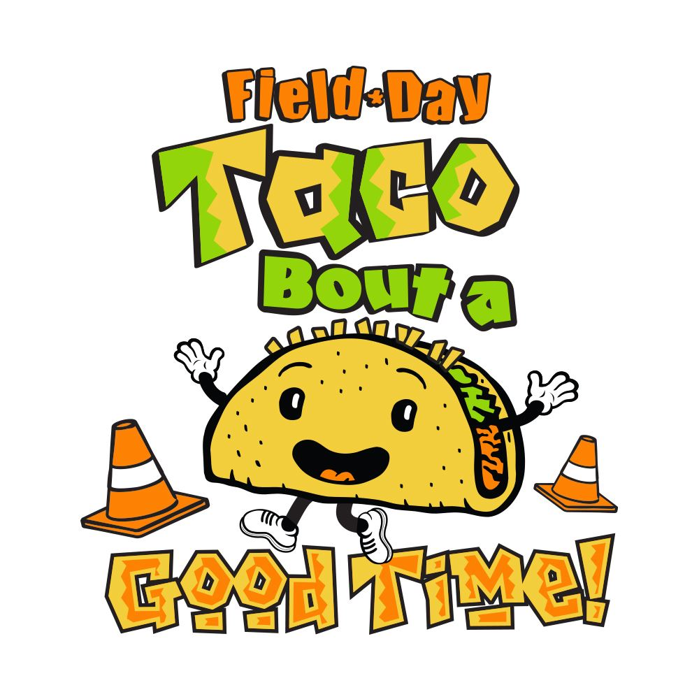 Field Day Taco Bout A Good Time! Temporary Tattoos - Pack of 100