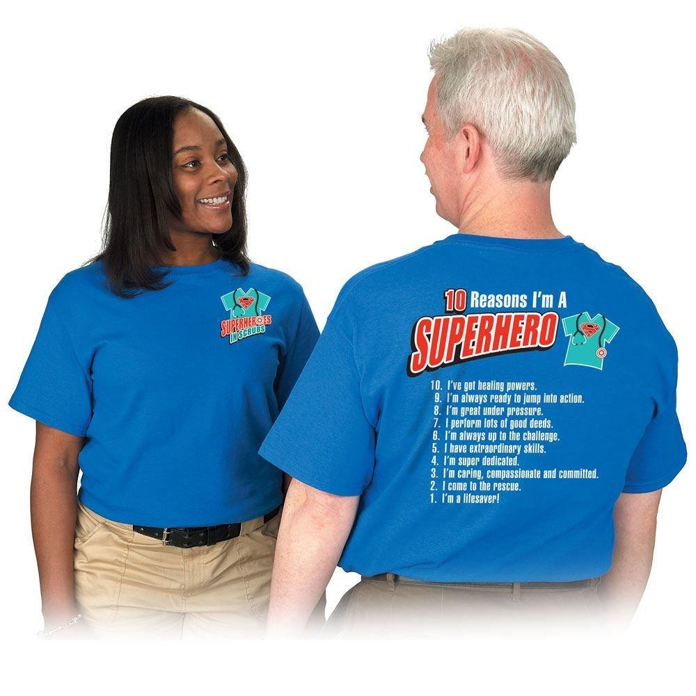 Superheroes In Scrubs 10 Reasons I'm A Superhero! 2-Sided T-Shirt