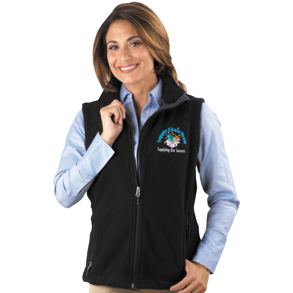 Supply Chain Team: Supplying Our Success Women's Embroidered Fleece Vest