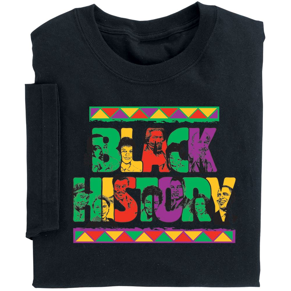 Black History Adult-Size T-Shirt