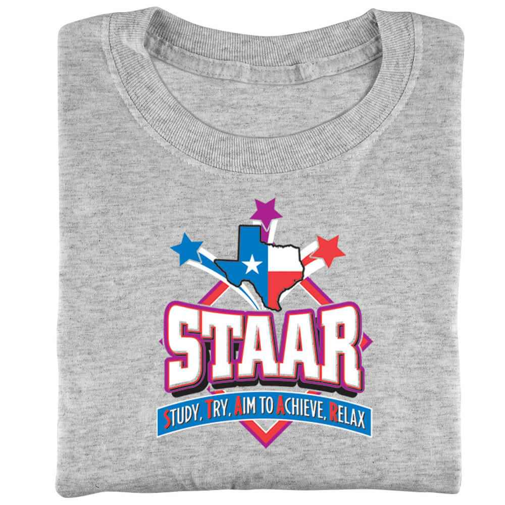 STAAR: Study, Try, Aim To Achieve, Relax Youth Short-Sleeve T-Shirt