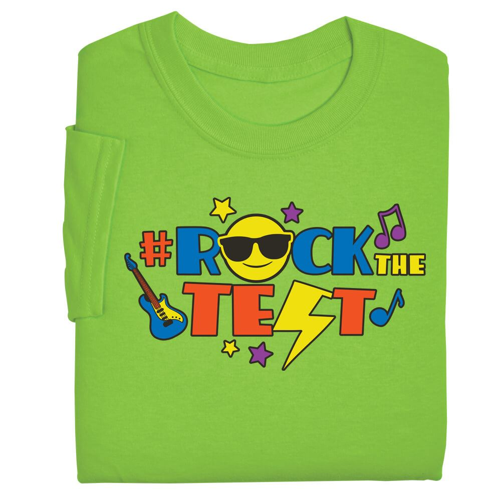 #RockTheTest Adult T-Shirt