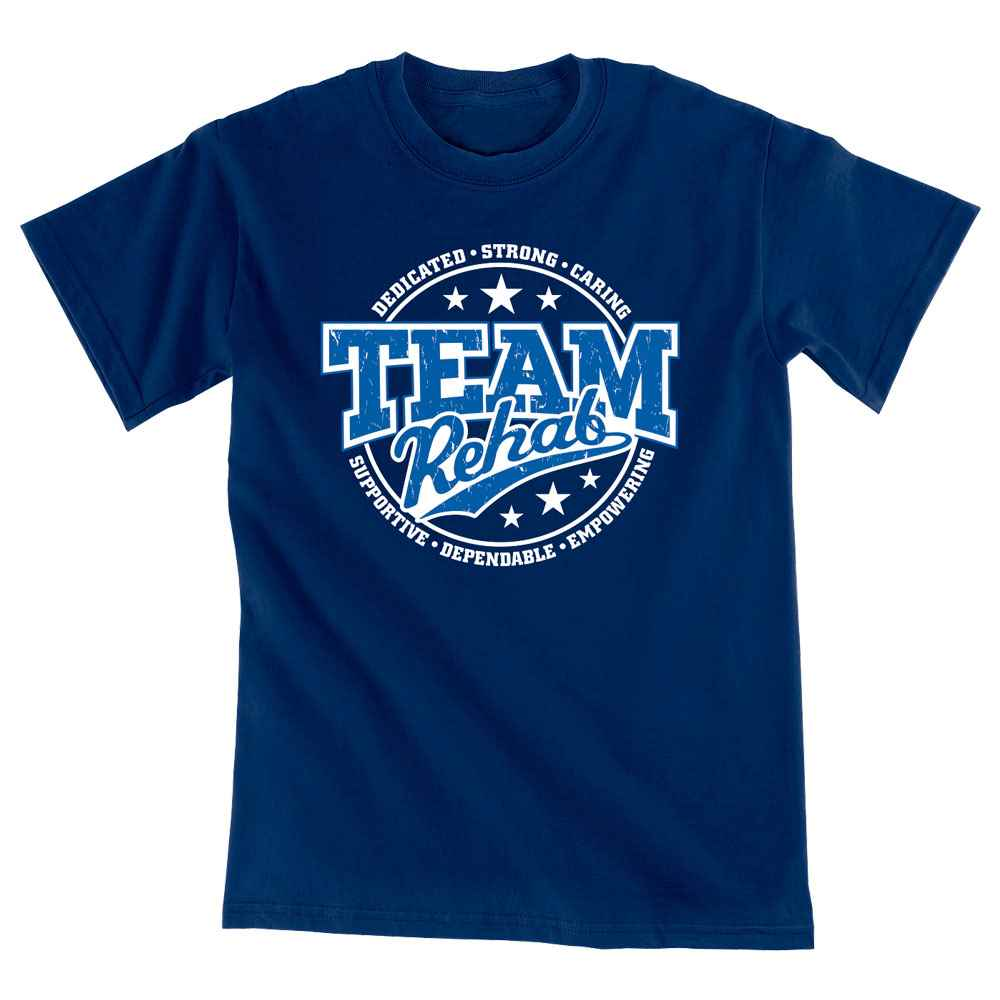 Team Rehab Short-Sleeve Unisex T-Shirt