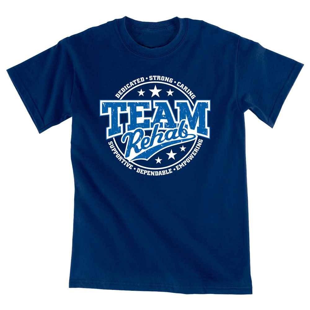 Team Rehab Short-Sleeve Unisex T-Shirt