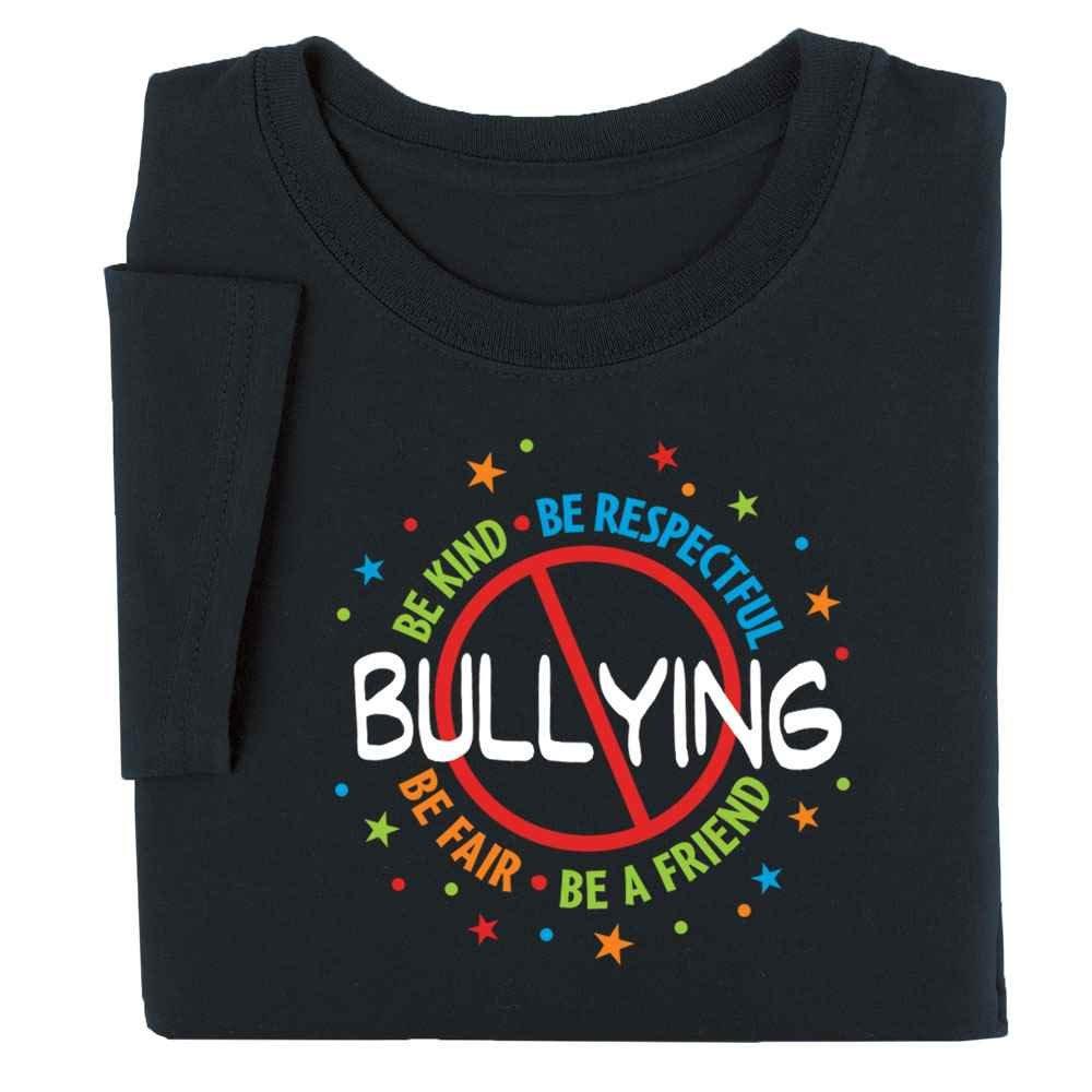 No Bullying Adult T-Shirt