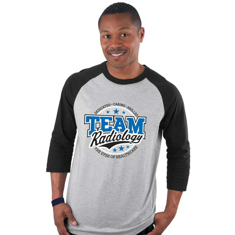 Team Radiology With Attributes Baseball Jersey