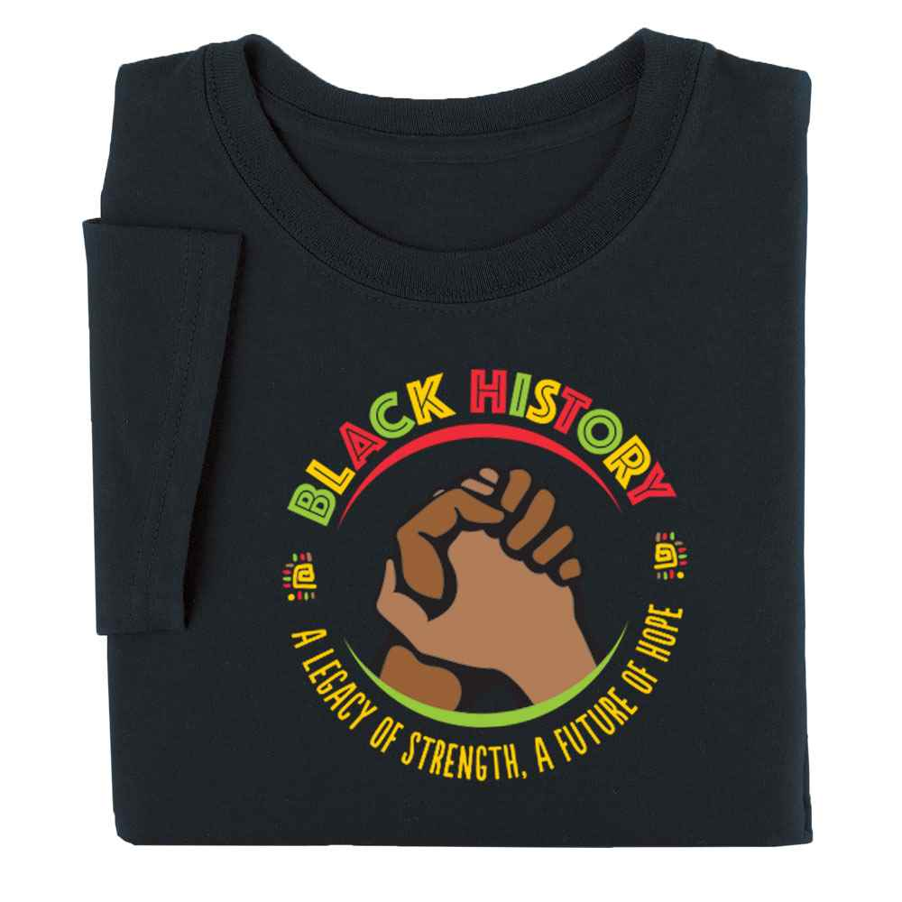 Black History: A Legacy Of Strength, A Future Of Hope Youth T-Shirt