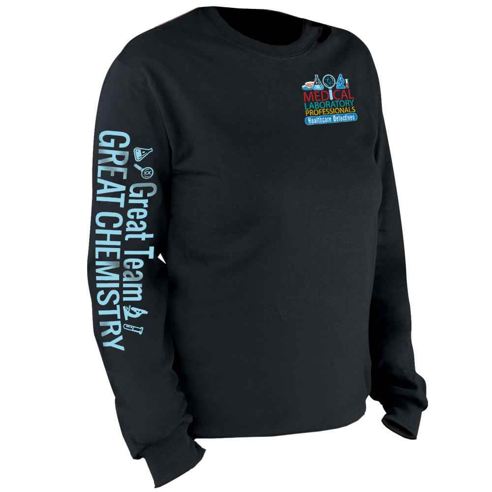 Medical Laboratory Professionals: Healthcare Detectives Long-Sleeve T-Shirt
