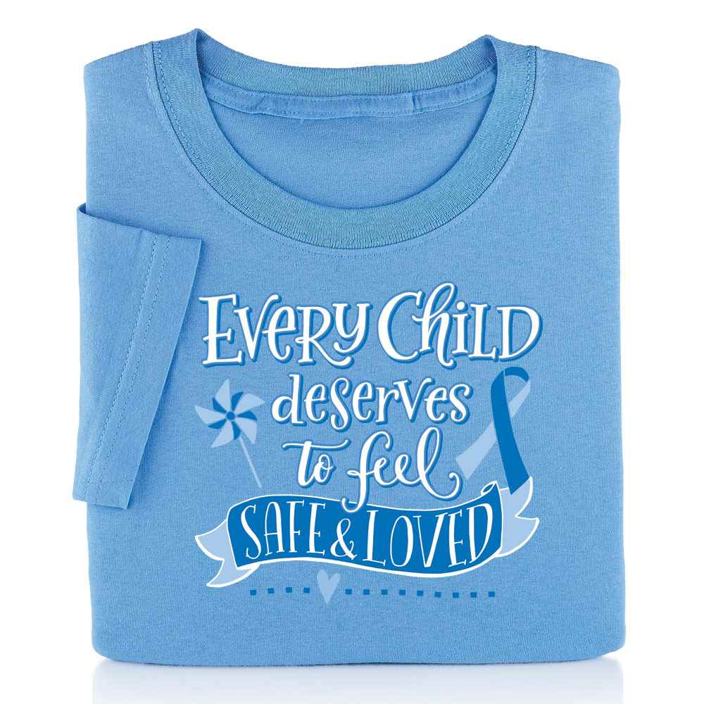 Every Child Deserves To Feel Safe & Loved Short-Sleeve T-Shirt