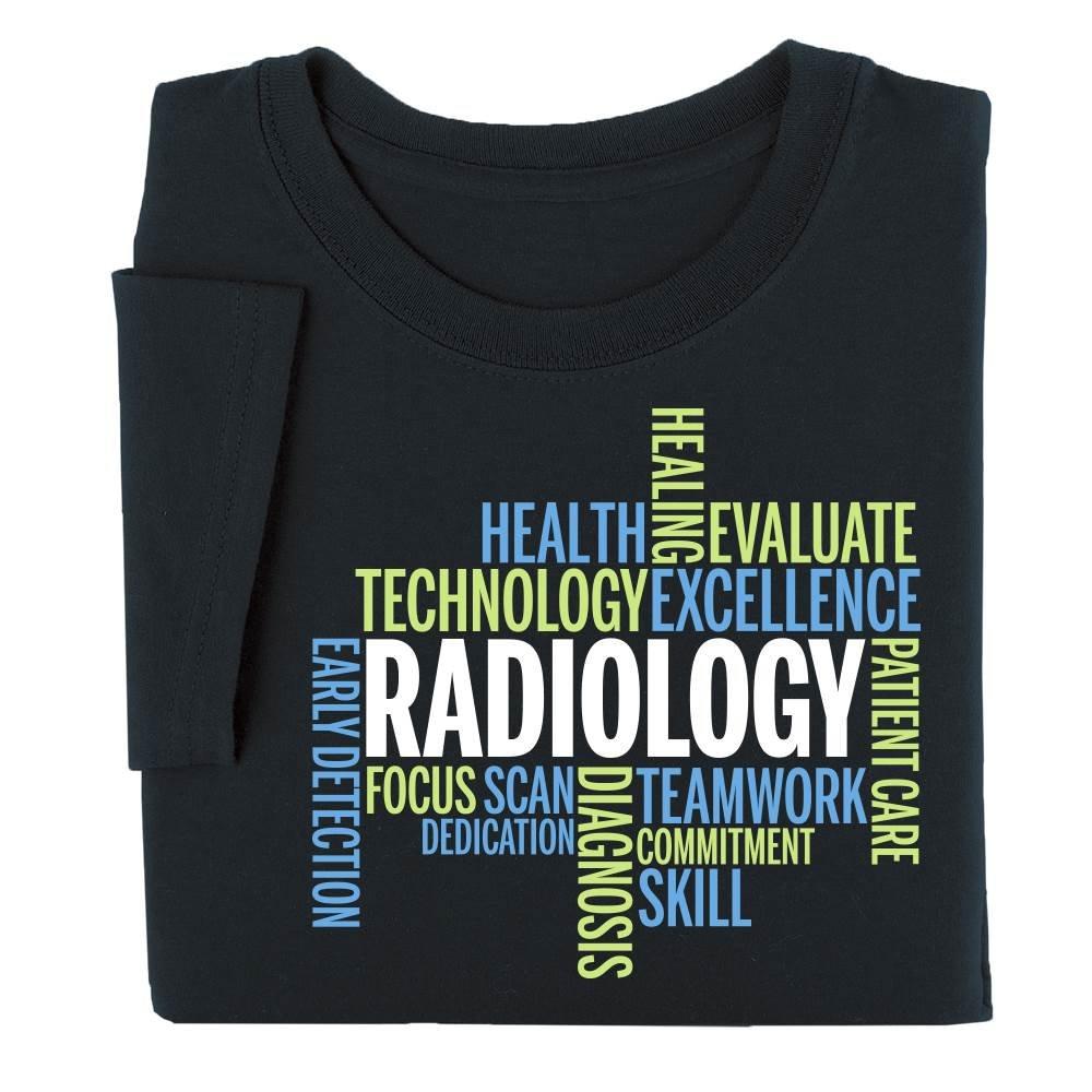Radiology Team Word Cloud Short-Sleeve T-Shirt