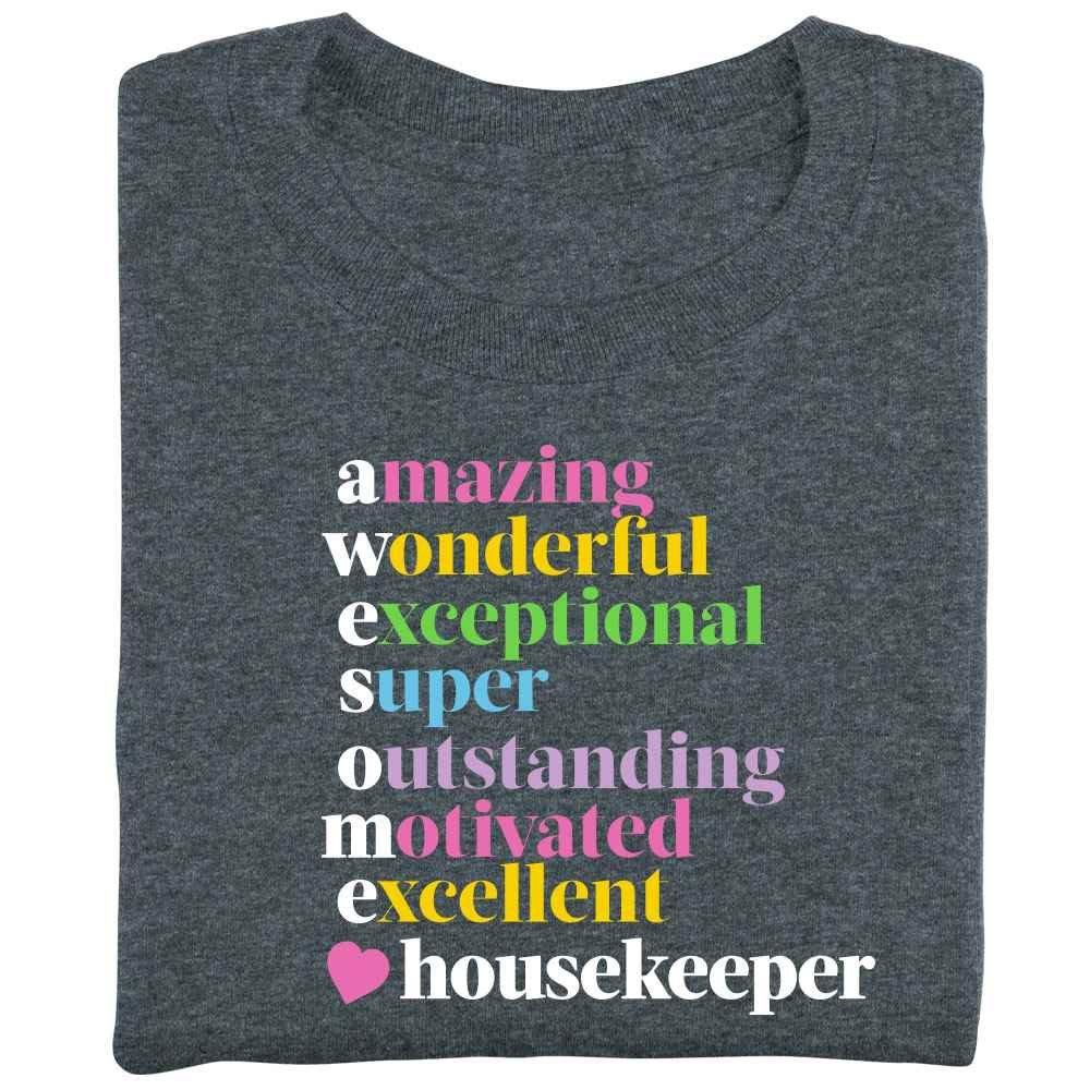 Awesome Housekeeper T-Shirt