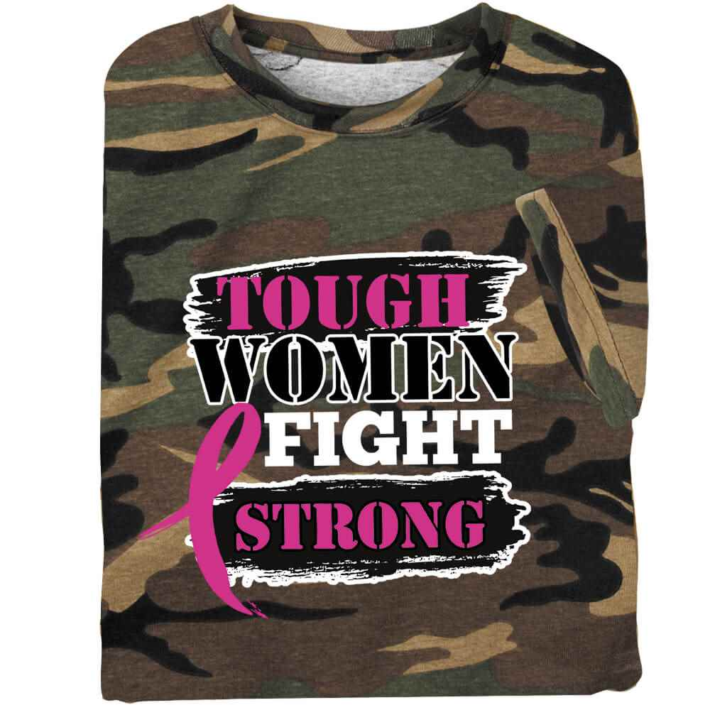 Tough Women Fight Strong Awareness T-Shirt