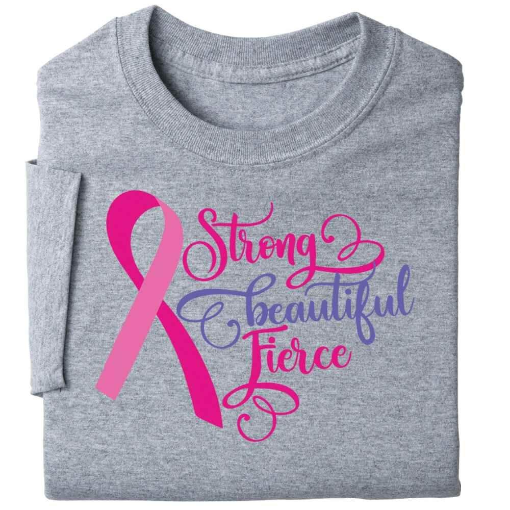 Strong, Beautiful, Fierce Awareness T-Shirt