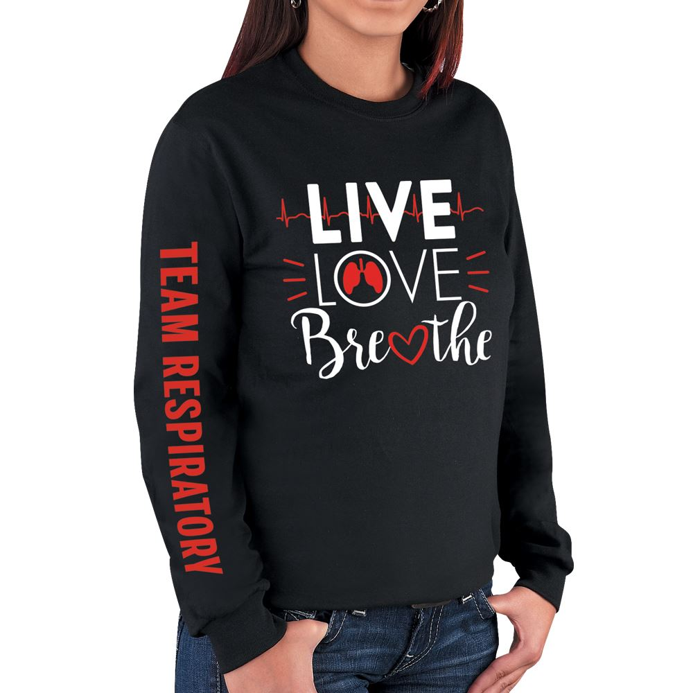 Live Love Breathe Long Sleeve T-Shirt