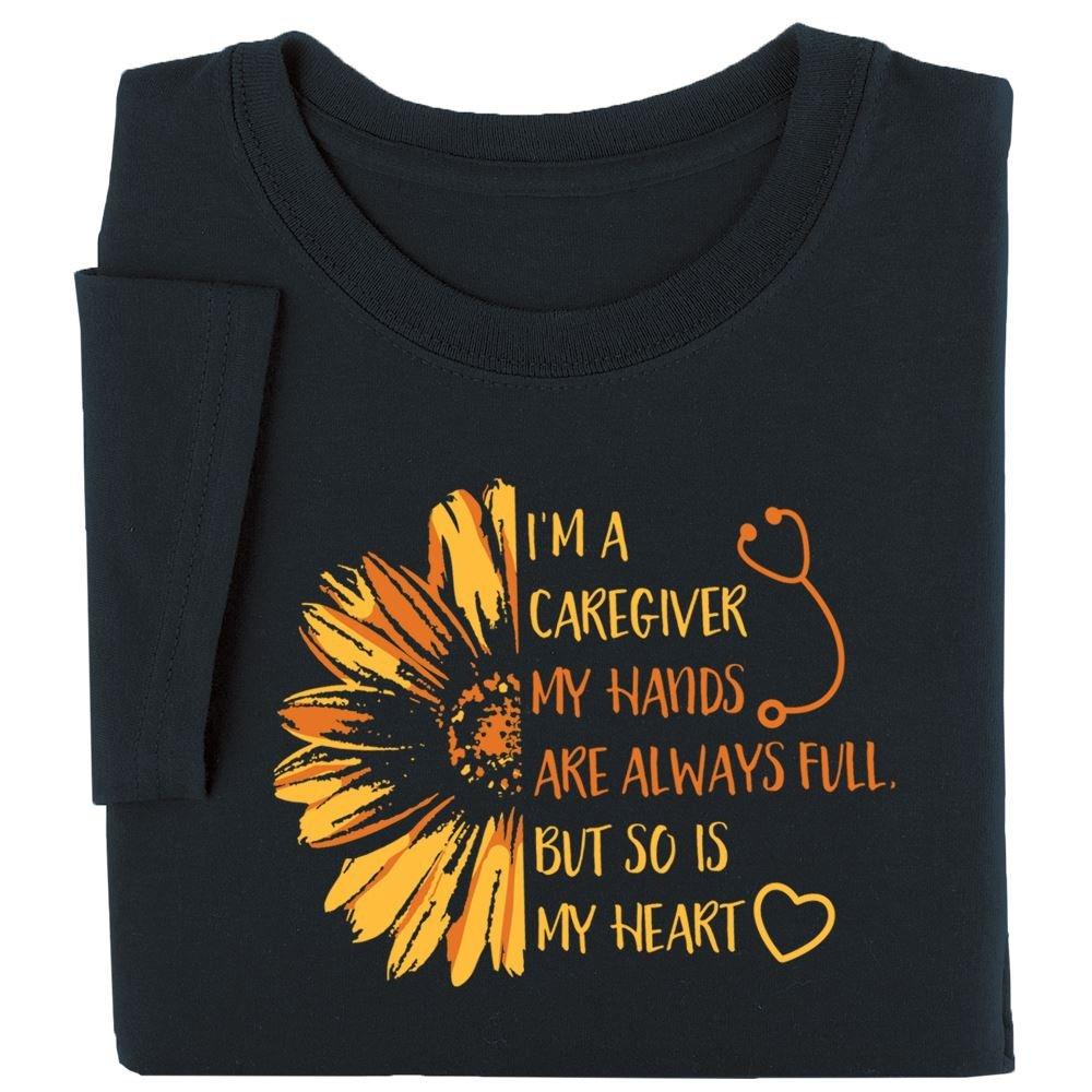 I'm A Caregiver Short Sleeve Recognition T-Shirt