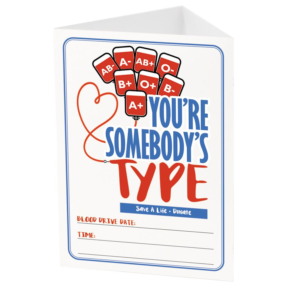 You're Somebody's Type Table Card
