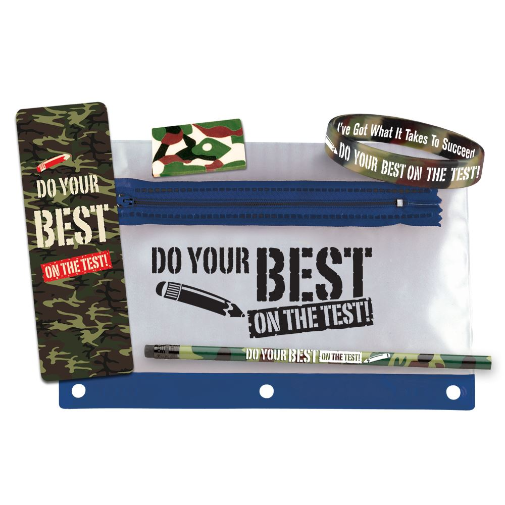 Do Your Best On The Test! Test Prep Pouch