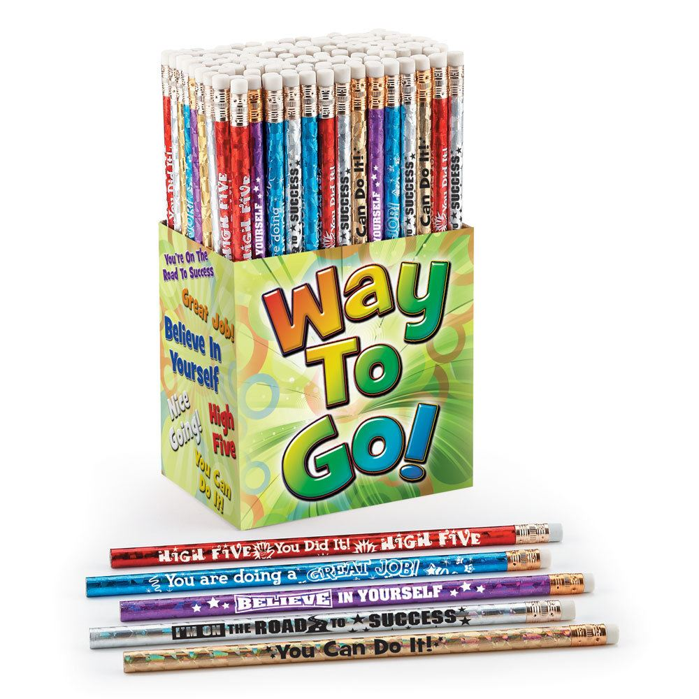 Way To Go! Award 150-Piece Pencil Assortment Collection