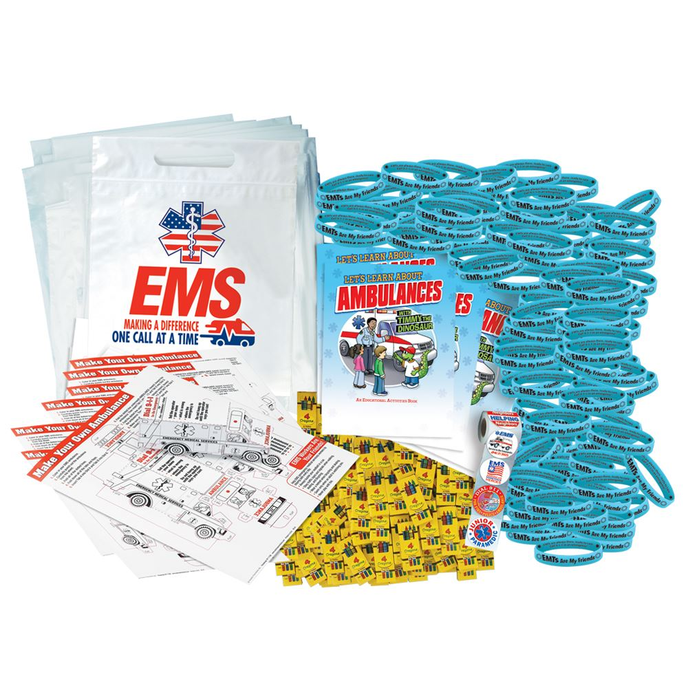 EMS Ambulance 700-Piece Open House Kit