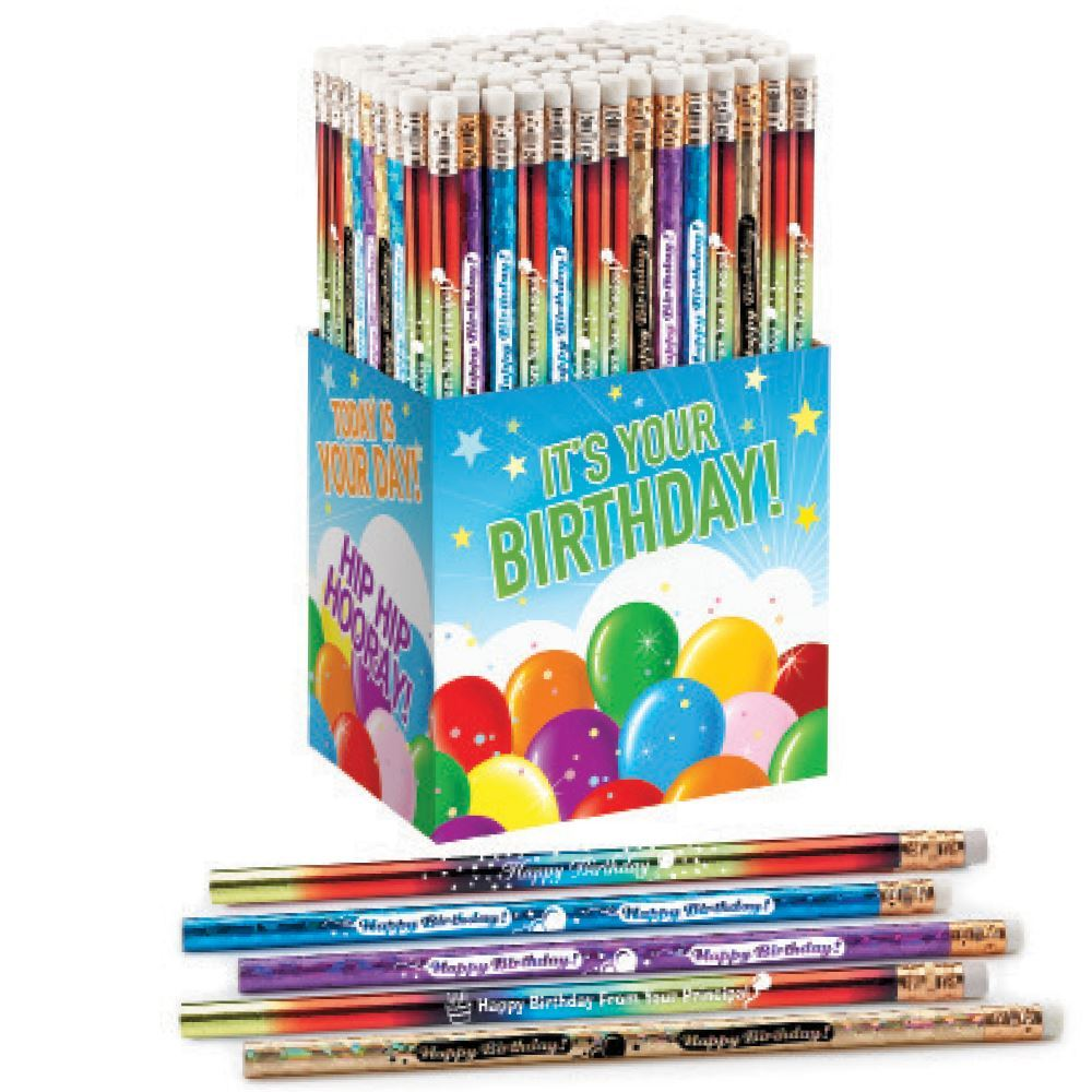 It's Your Birthday! 150-Piece Award Pencil Collection