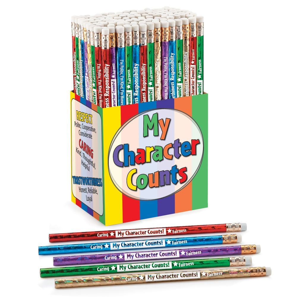 My Character Counts 150-Piece Award Pencil Collection