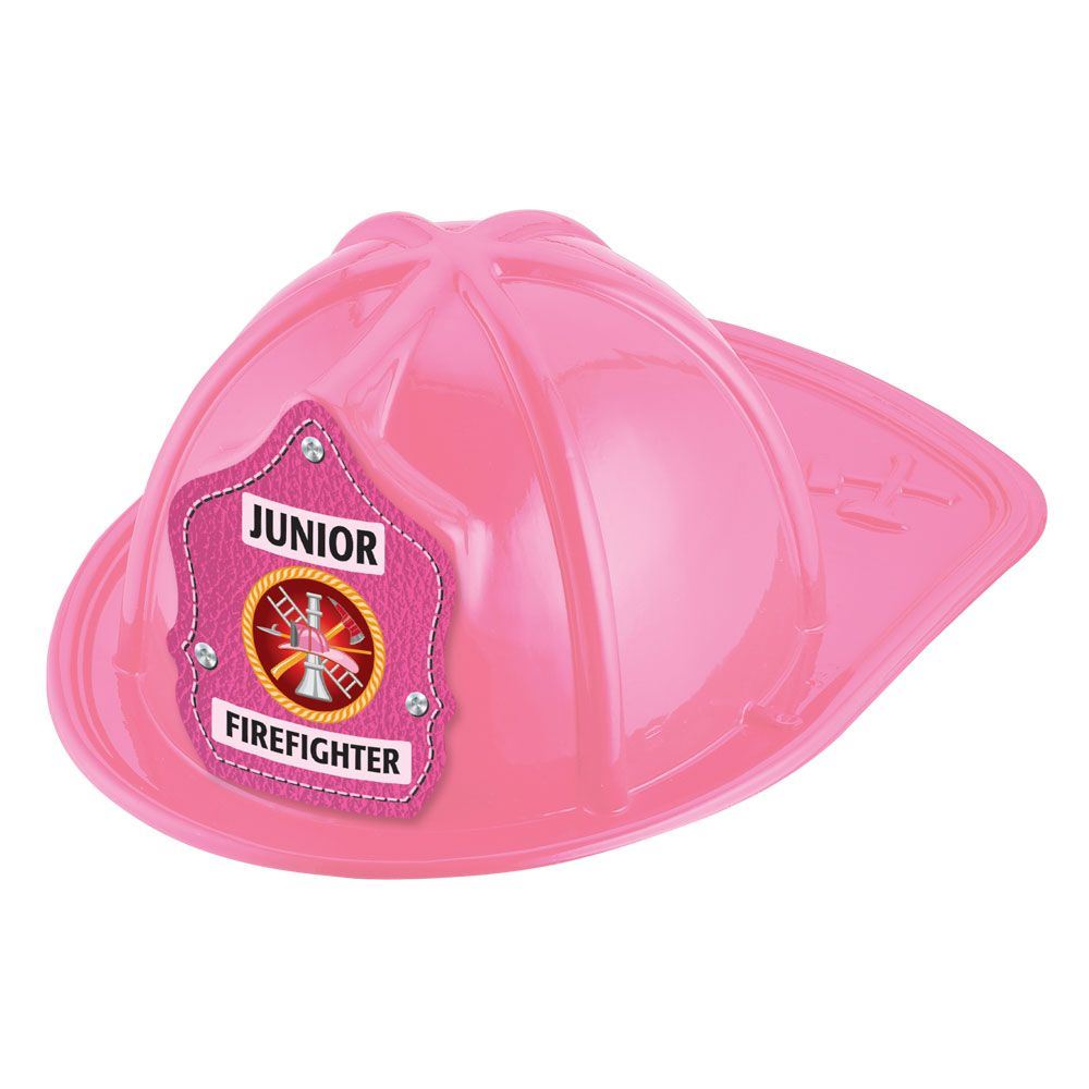 Junior Firefighter Hat (Pink)