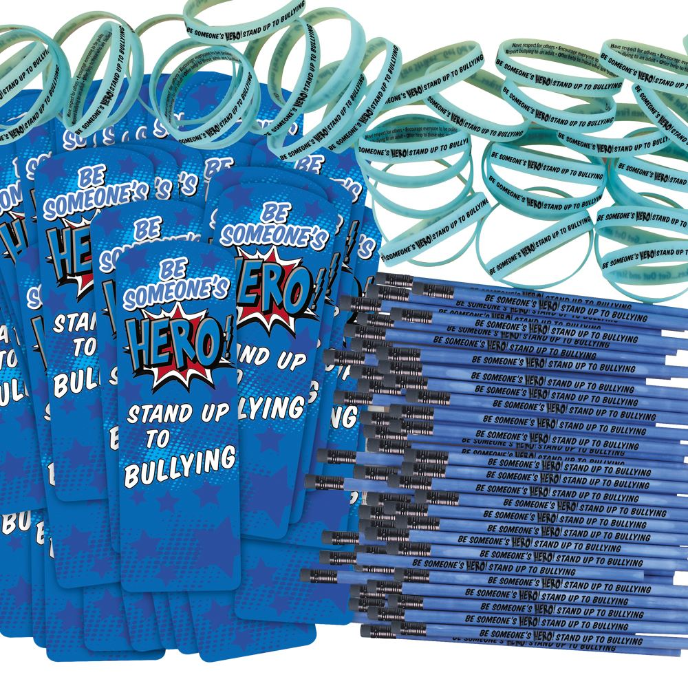 Be Someone's Hero! Stand Up To Bullying 300-Piece Theme Kit
