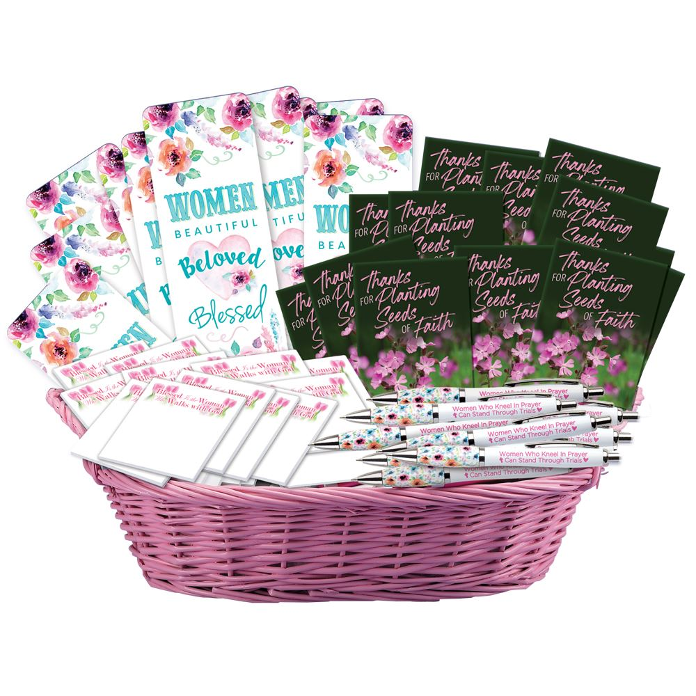 Special Women 100-Piece Assortment Display Basket