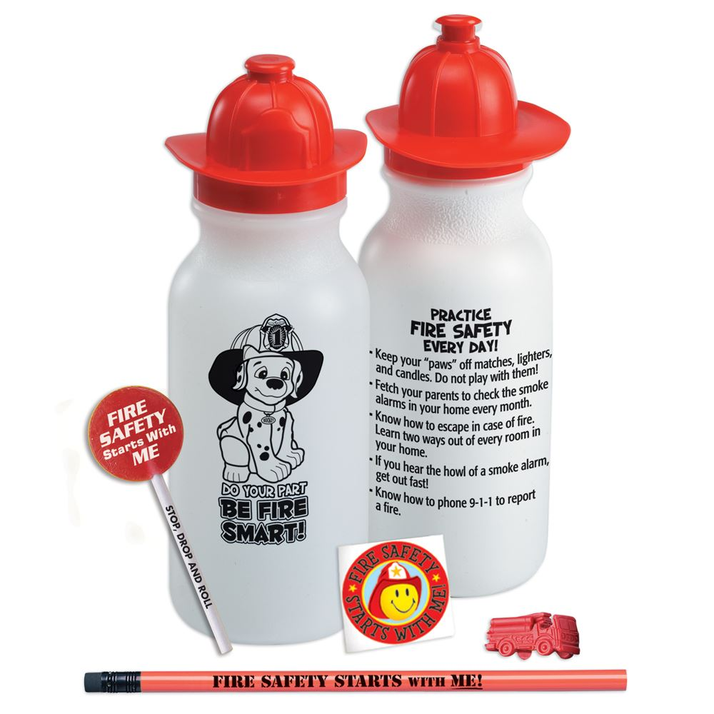 Do Your Part, Be Fire Smart! Water Bottle Value Kit