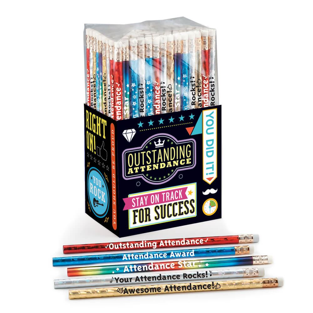 Outstanding Attendance 150-Piece Award Pencil Collection