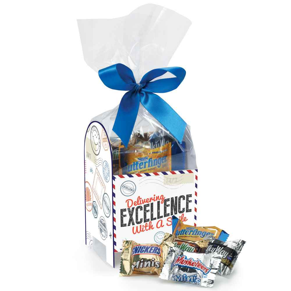 Delivering Excellence With A Smile Mailbox Treat Pack