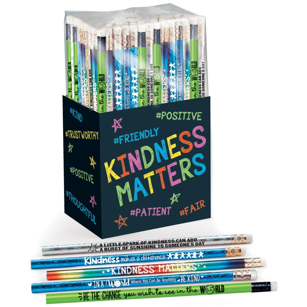 Kindness Matters 150-Piece Pencil Collection