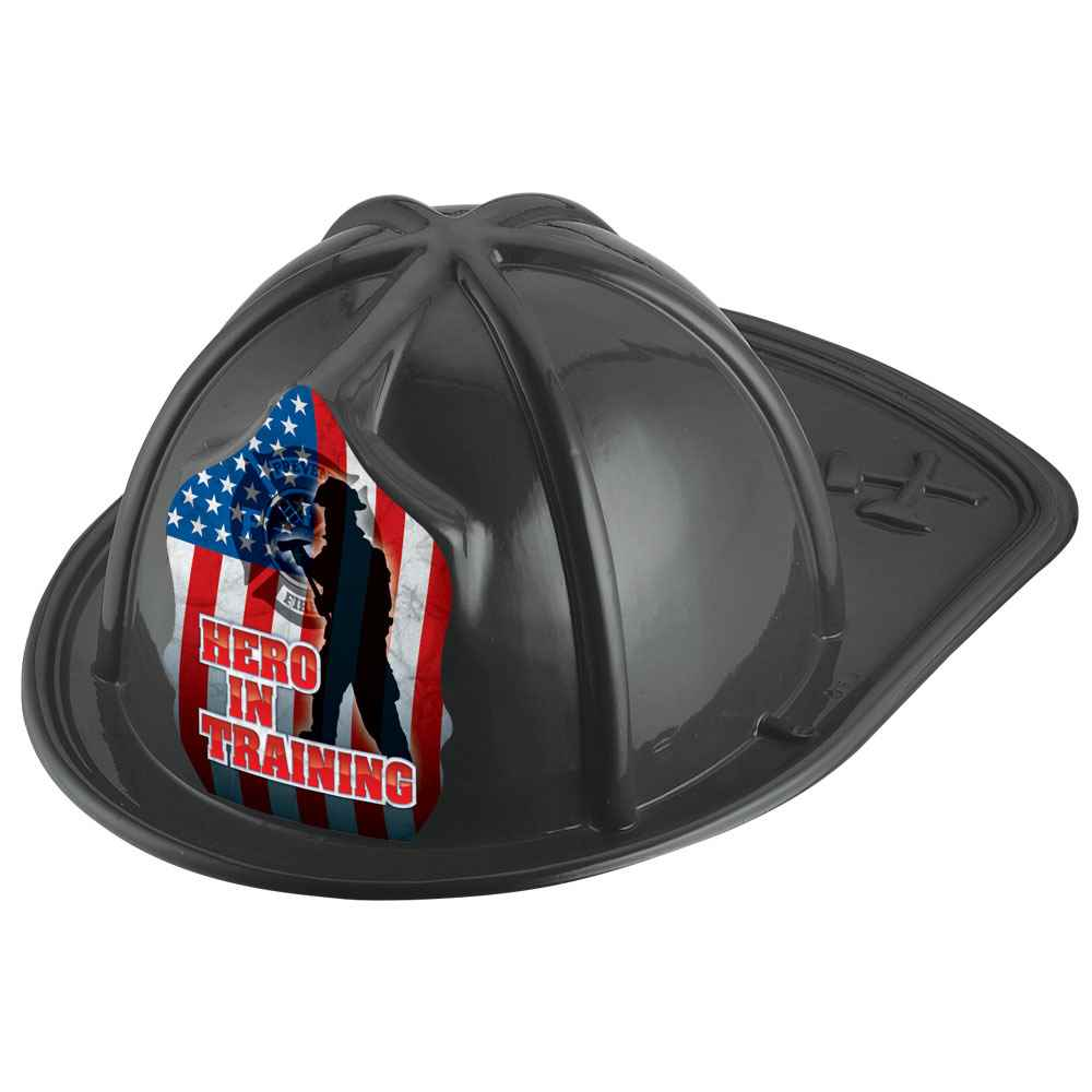 Hero In Training Junior Firefighter Black Hat