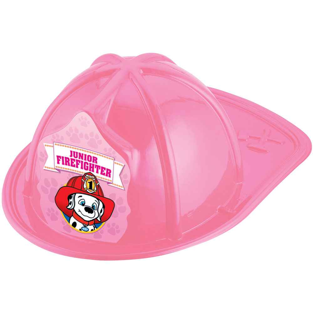 Dalmatian Junior Firefighter Pink Hat