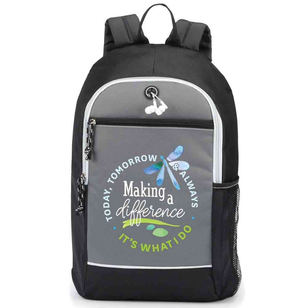 Making A Difference Today, Tomorrow & Always, It's What I Do Bayside Backpack