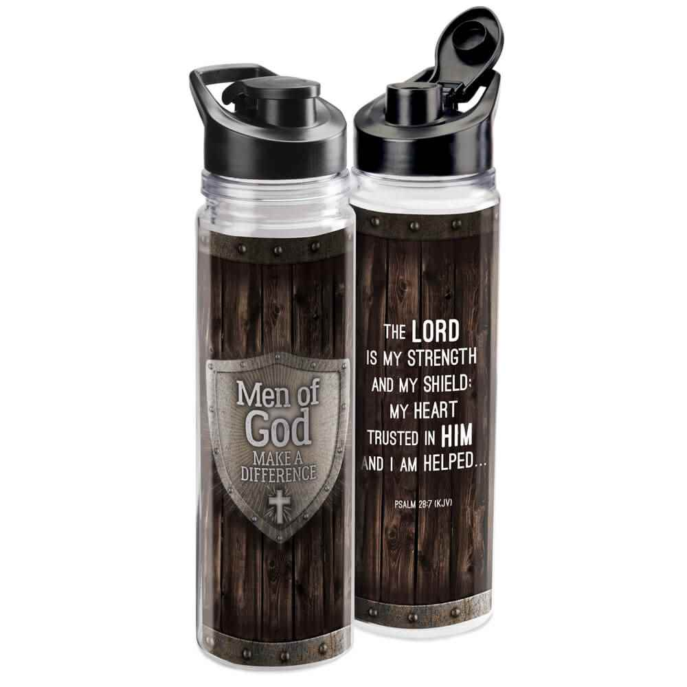 Men Of God Make A Difference Water Bottle 18-Oz.