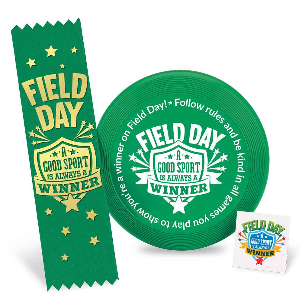 Field Day: A Good Sport Is Always A Winner Mini Flyer Fun Pack