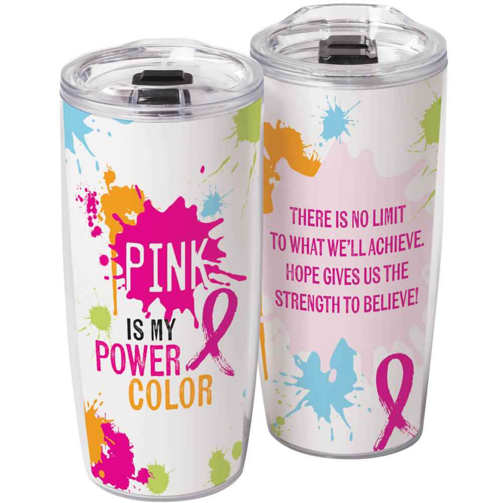Pink Is My Power Color Sierra Insert Tumbler 19-Oz.